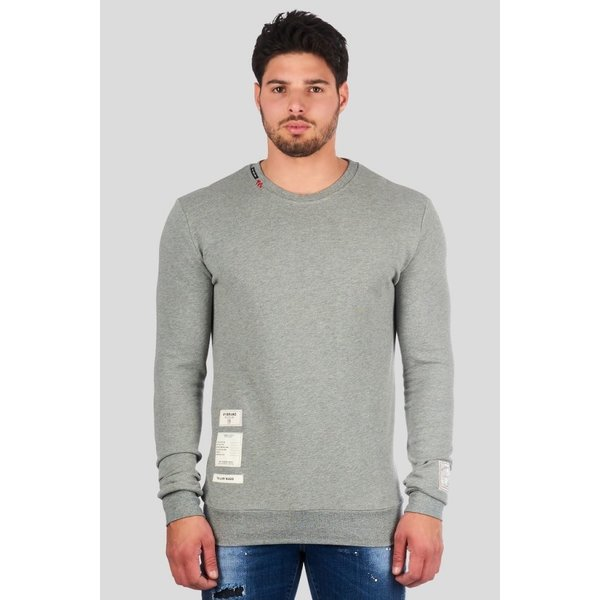 My Brand Cashmere MMB-SW012-CL002 Sweater Grey