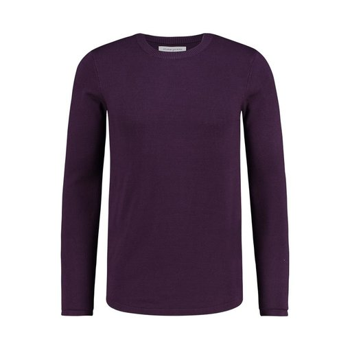 Purewhite Purewhite Sweater Aged Burgundy 19030818