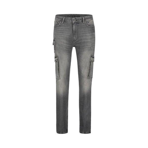 Purewhite The Jone Cargo Jeans Grey FW19