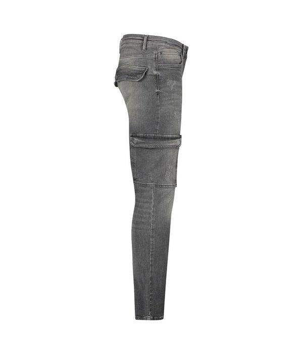Purewhite Purewhite The Jone Cargo Jeans Grey FW19