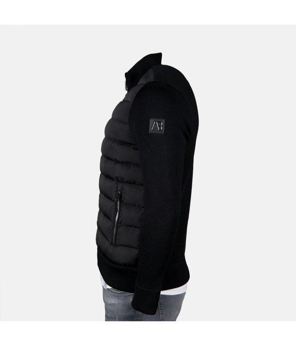 AB-Lifestyle AB Tricot Jacket Black