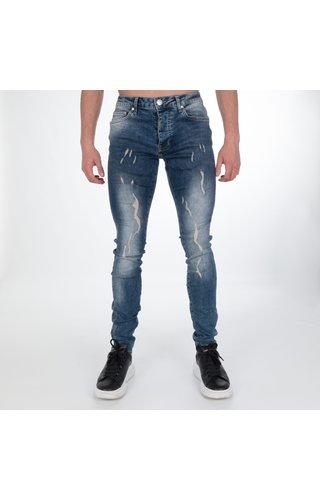 AB-Lifestyle AB Lifestyle Stretch Jeans Burlap Blue