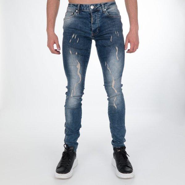 AB Lifestyle Stretch Jeans Burlap Blue
