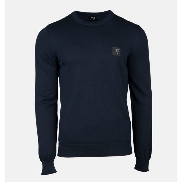 AB Essential Tricot Sweater Navy