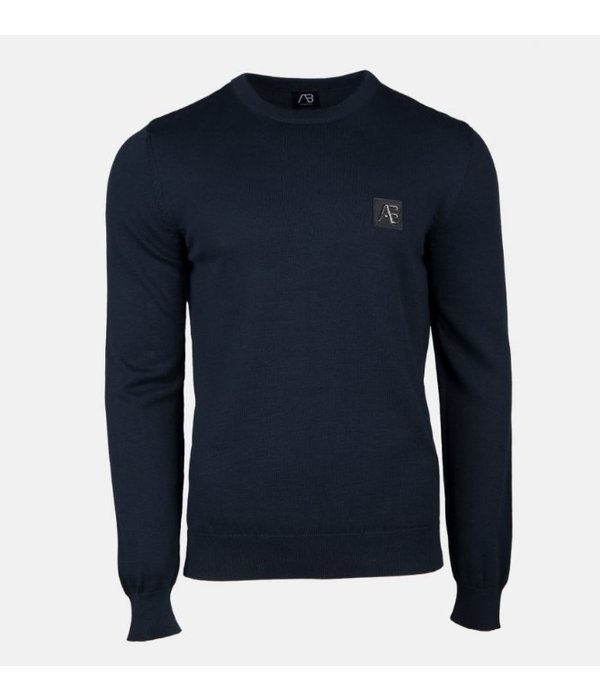 AB-Lifestyle AB Essential Tricot Sweater Navy