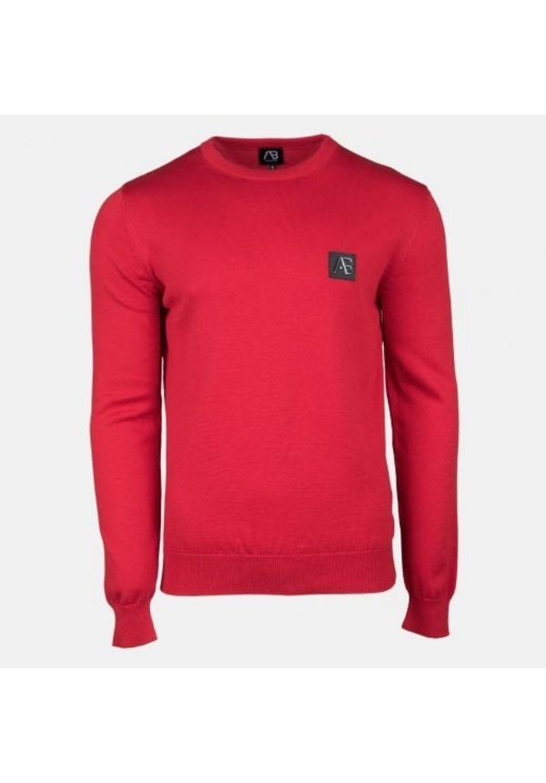AB Essential Tricot Sweater Rood