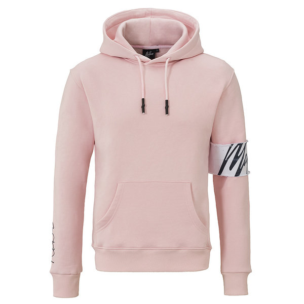 Malelions Hoodie Captain Pink/White
