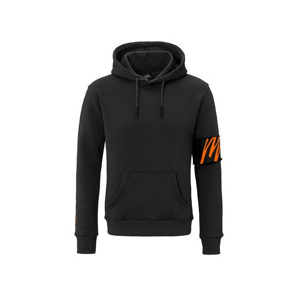Malelions Hoodie Captain Black/Orange