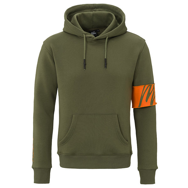 Malelions Captain Hoodie Army/Orange