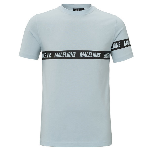 Malelions T-shirt Karim Blue/Black