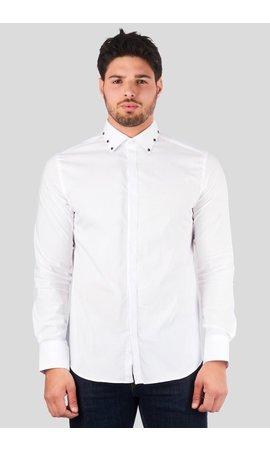 My Brand My Brand Studded Collar Blouse White