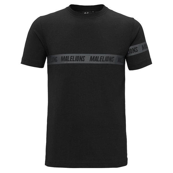 Malelions T-shirt Karim Black/Black