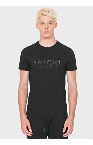 Antony Morato AM TShirt Black MMKS01602 Abbigliamento