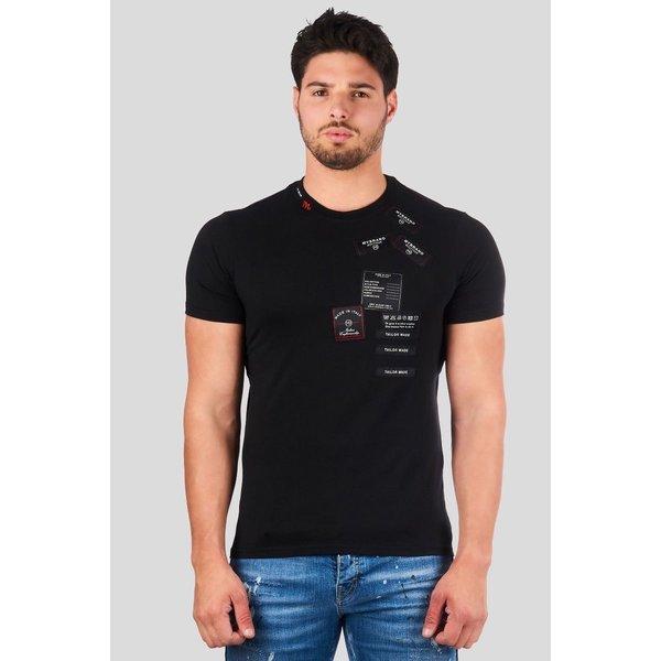 My Brand Cashmere T-shirt MMB-TS032-CL002 Black