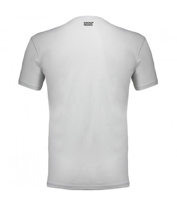 Wrong Friends Wrong Friend 777 T-Shirt Grey
