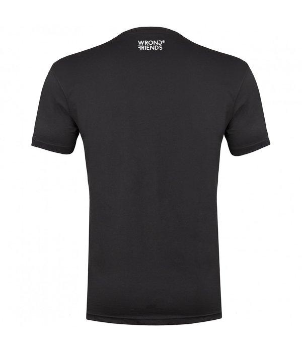 Wrong Friends Wrong Friends 777 T-Shirt Black