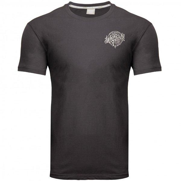 Wrong Friends 777 T-Shirt Black