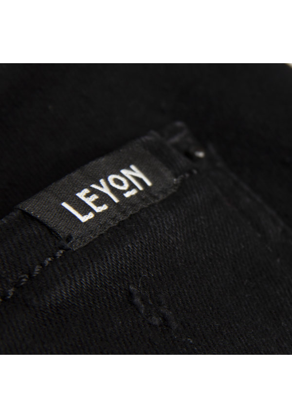 Leyon Denim Jeans Black 1825