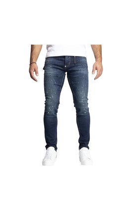 LEYON Leyon Denim Navy Spotted White/Black Jeans 1824