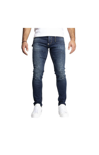 LEYON Leyon Denim Navy Spotted White/Black Jeans 1824