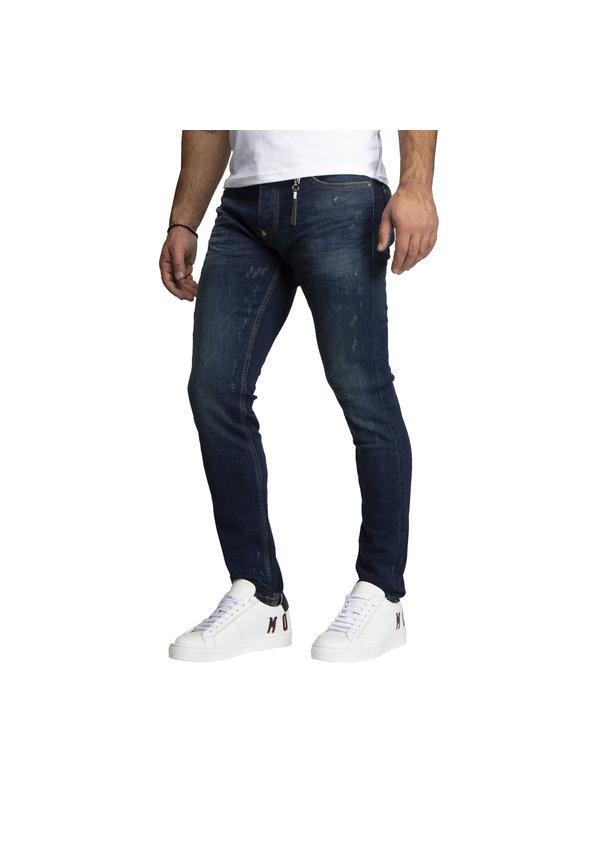 Leyon Denim Jeans Navy 1824
