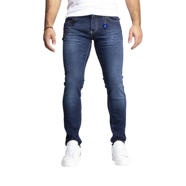 Leyon Denim Jeans Navy 1829