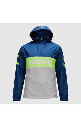 Robey X Banlieue Robey X Banlieue Anorak Blue/Green/Grey