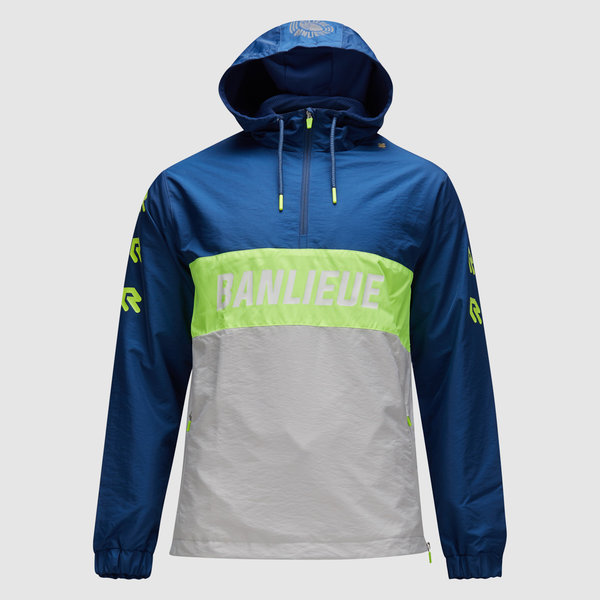 Robey X Banlieue Anorak Blue/Green/Grey