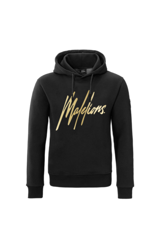 Malelions Malelions Hoodie Signature stra Gold