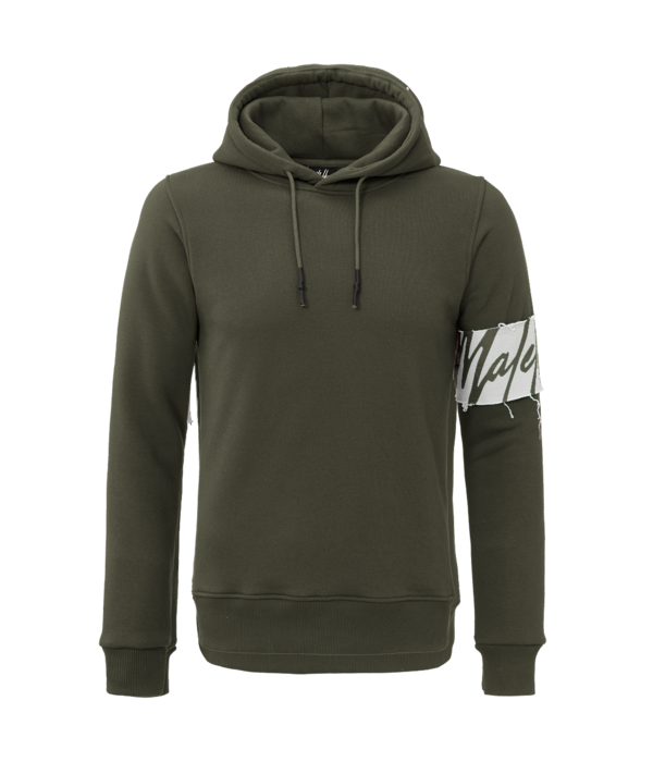 Malelions Malelions Captian Hoodie Army/white