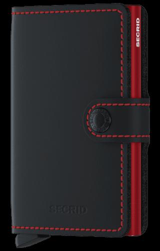 Secrid Secrid Miniwallet Matte Black & Red