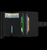 Secrid Secrid Miniwallet Perforated Black