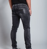 My Brand My Brand Dark Grey Base Zipper Jeans