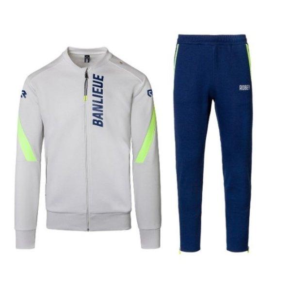 Robey X Banlieue Jog Suit Blue/Green/Grey