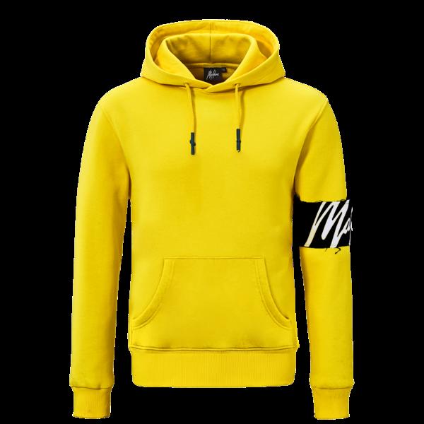 Malelions Hoodie Yellow/Black/White