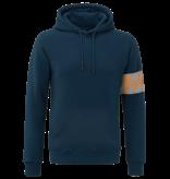 Malelions Malelions Hoodie Captain Navy/Grey/Orange