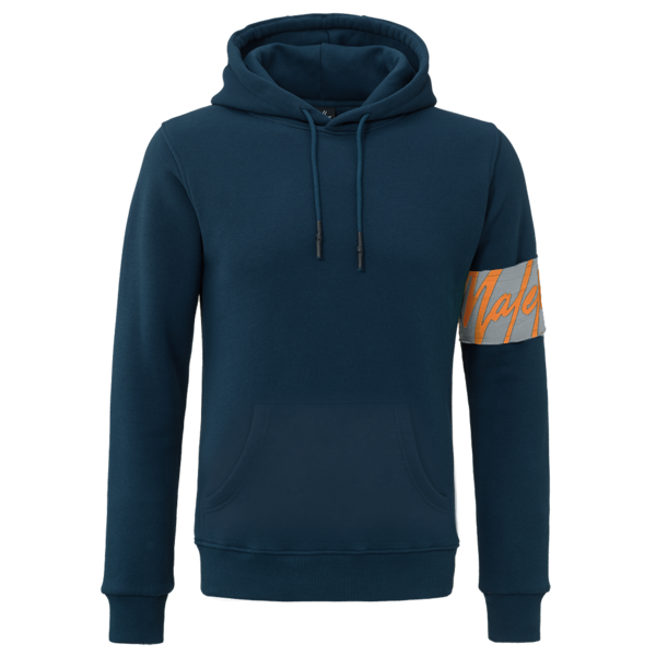 Malelions Hoodie Captain Navy/Grey/Orange