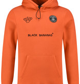 Black Bananas Black Bananas The F.C Basic Hoody Orange