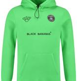 Black Bananas Black Bananas The F.C Basic Hoody Neon Green