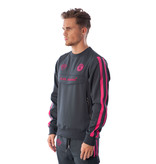 Black Bananas Black Bananas Double Stripe Tracksuit Neon Pink