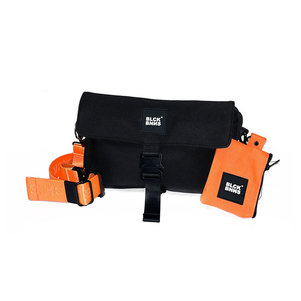 Black Bananas The Neon Messenger Bag Orange