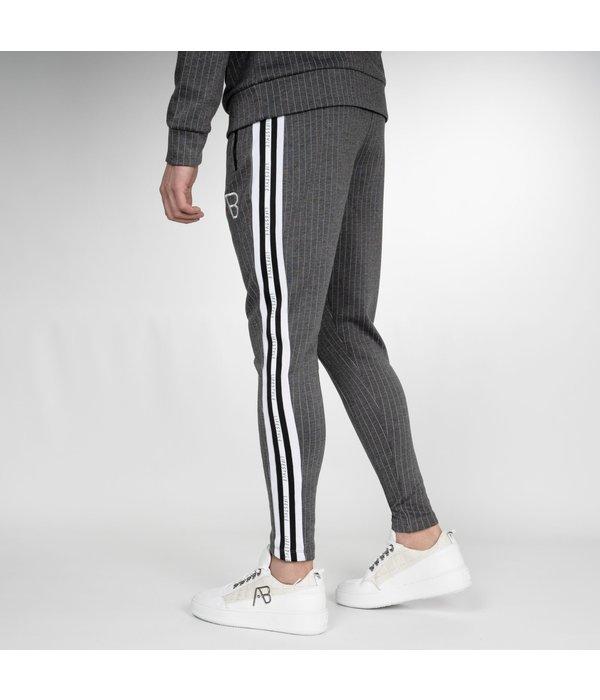 AB-Lifestyle AB Lifestyle AB Striped Track Pants Grey