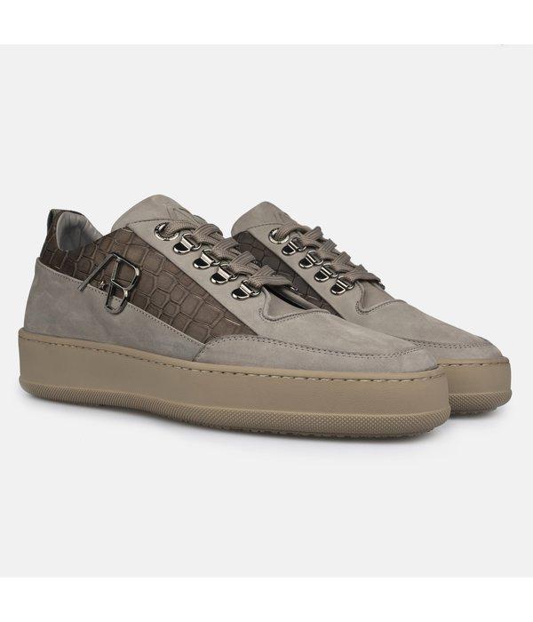 AB-Lifestyle AB Lifestyle Footwear  Crocodile taupe