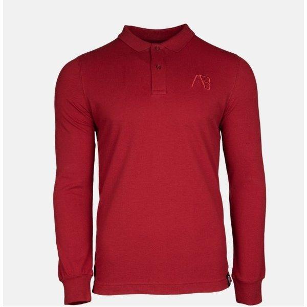 AB Lifestyle AB Polo Long Sleeve Bordeaux