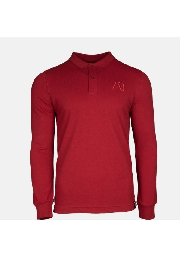 AB Lifestyle AB Polo Long Sleeve Bordeaux