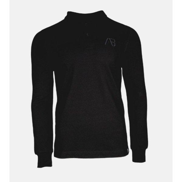 AB Lifestyle AB Polo Long Sleeve Black