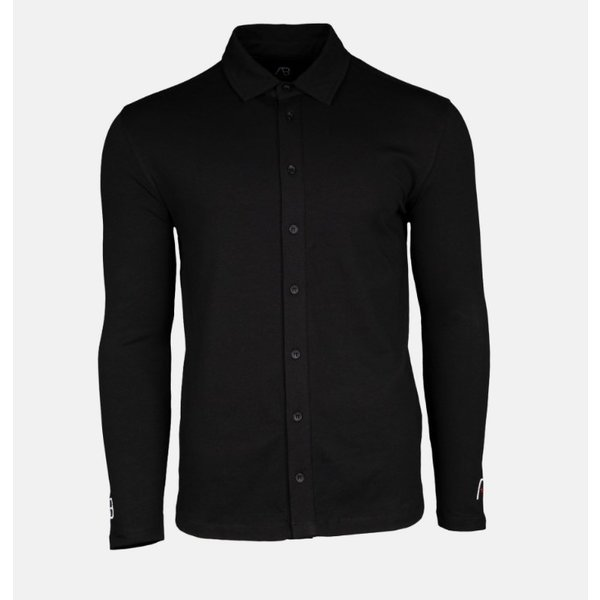 AB lifestyle Button Up Shirt Black