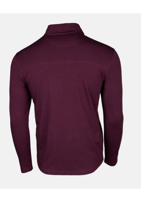 AB Lifestyle Button Up Shirt Bordeaux