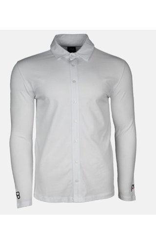 AB-Lifestyle AB lifestyle Button Up Shirt Wit