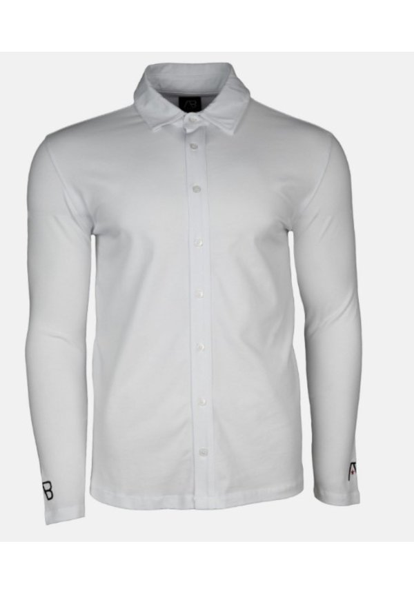 AB lifestyle Button Up Shirt Wit
